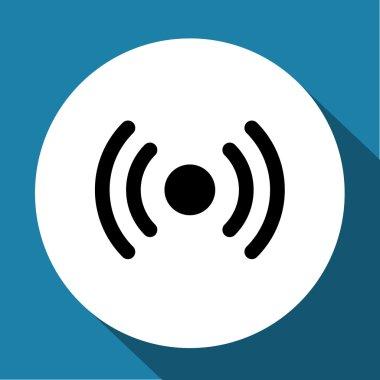 Alarm icon isolated