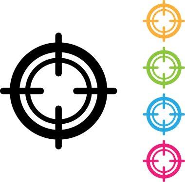 Focus Vector Icon , peephole
