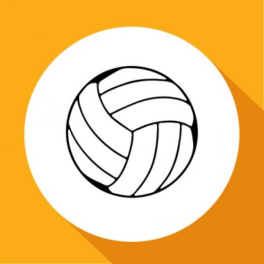 volleyball ball eps 10