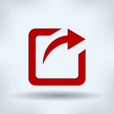Logout or send square with right arrow