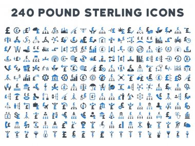 240 Flat Vector Business Icons