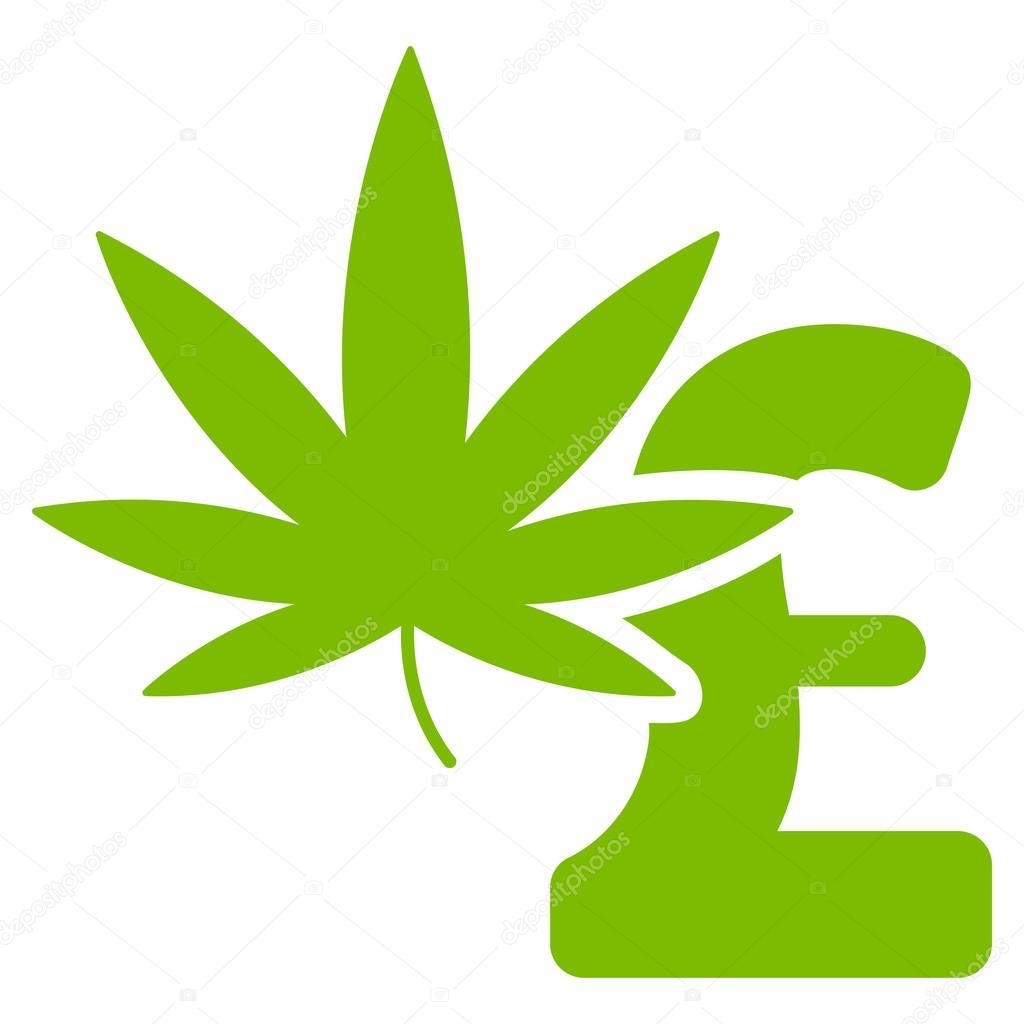 Marijuana Pound Business Flat Vector Icon Symbol