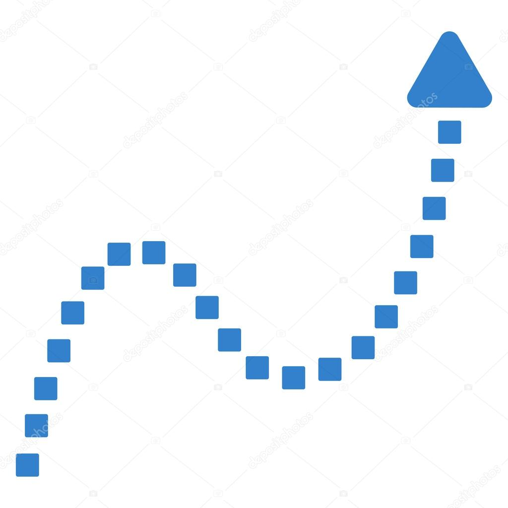 Dotted curve direction vector toolbar icon vetor de stock dotted curve direction vector toolbar icon vetor de stock ccuart Images