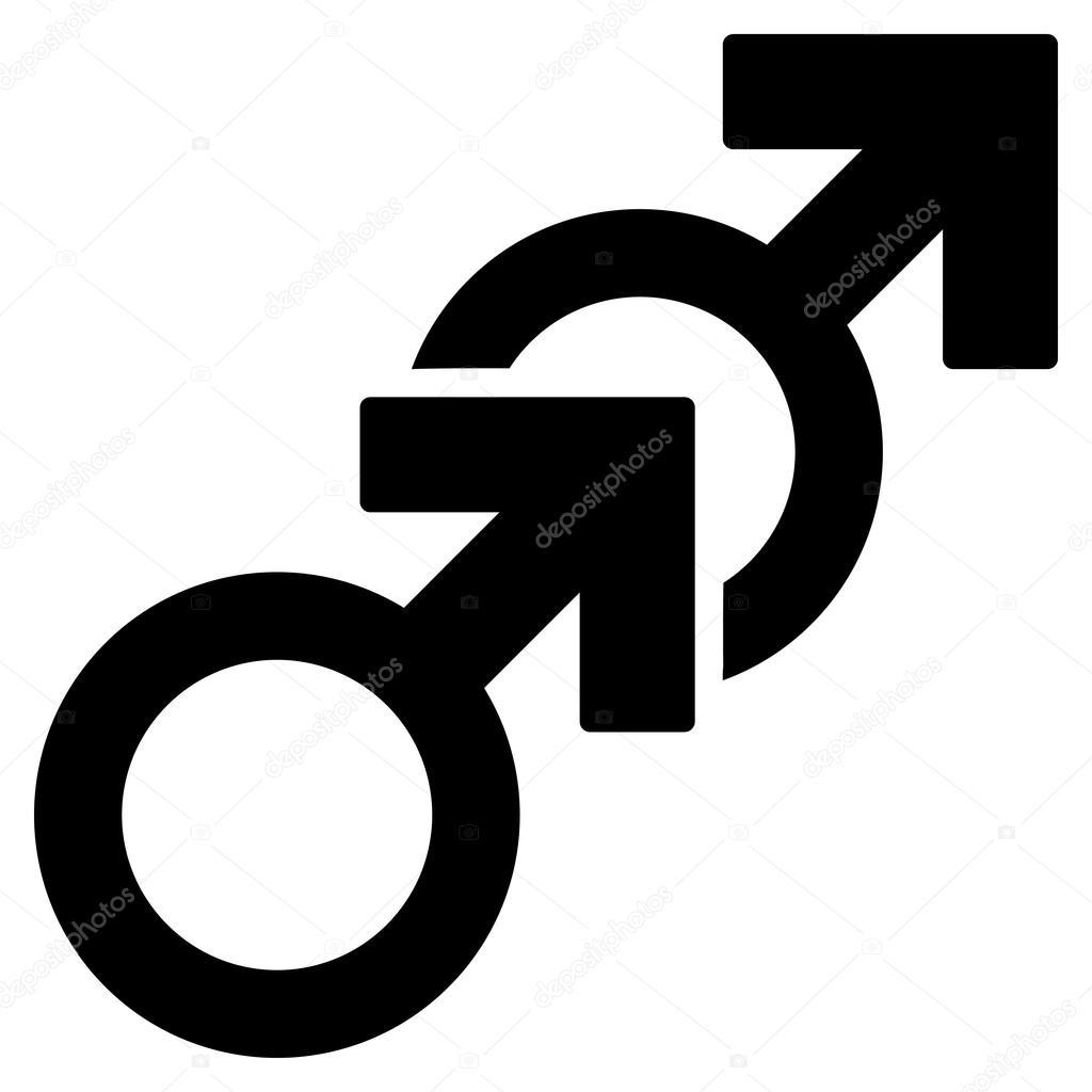 Black on white gay sex photo 841