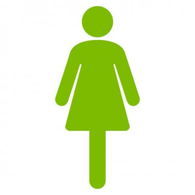 Woman Flat Vector Icon