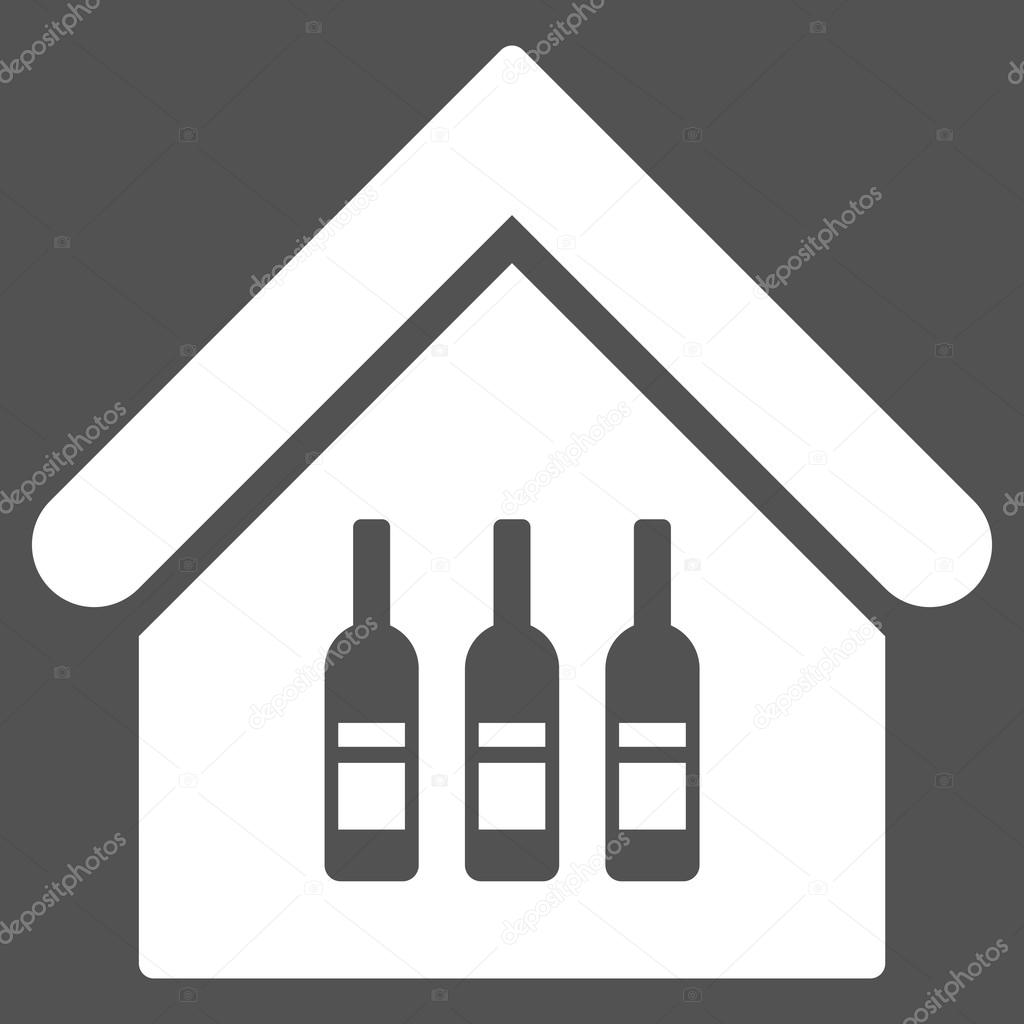Weinbars & Weinstuben flache Vektor Icon — Stockvektor © ahasoft ...