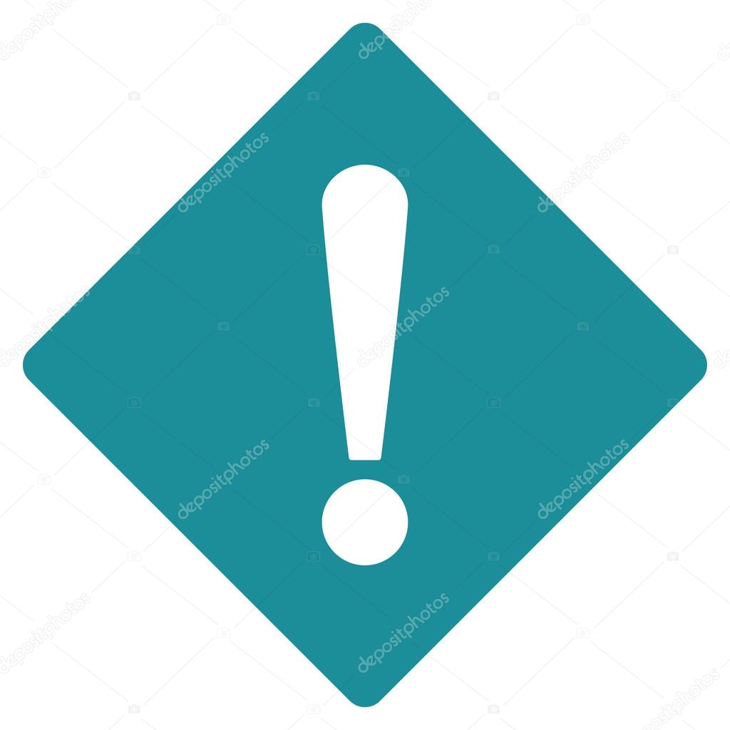 Error flat soft blue color icon