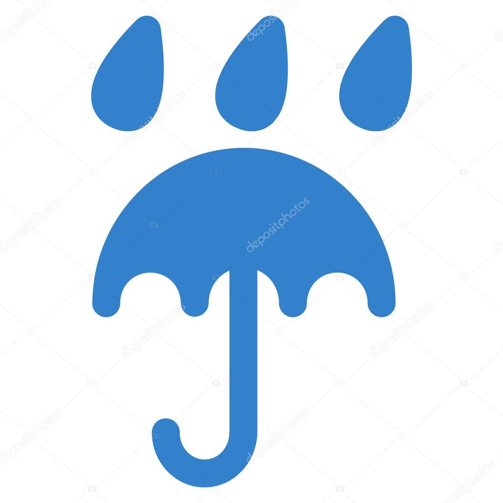 Rain protection icon from Business Bicolor Set