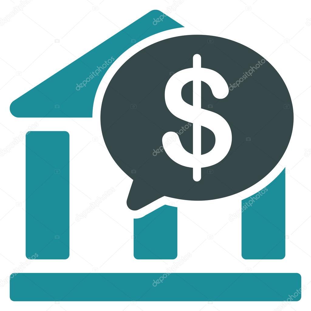 Icono De Transferencia Bancaria Desde Negocios Bicolor