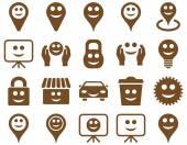 Fényképek Eszközök, beállítások, mosolyog, objektumok ikonok