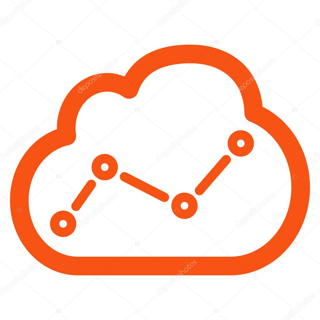 Analytics icon from Business Bicolor Set