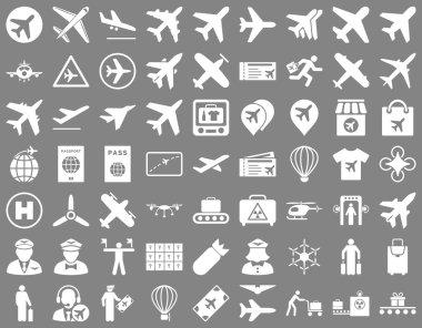 Aviation Icon Set