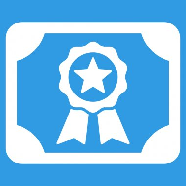 Certificate icon from Business Bicolor Set