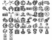 Fotografie Euro Business Icons