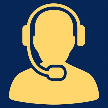 Call Center Operator Icon from Commerce Set