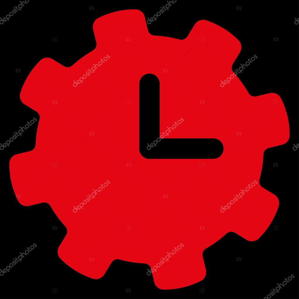 Time Settings Icon Stock Vector C Ahasoft 79411304
