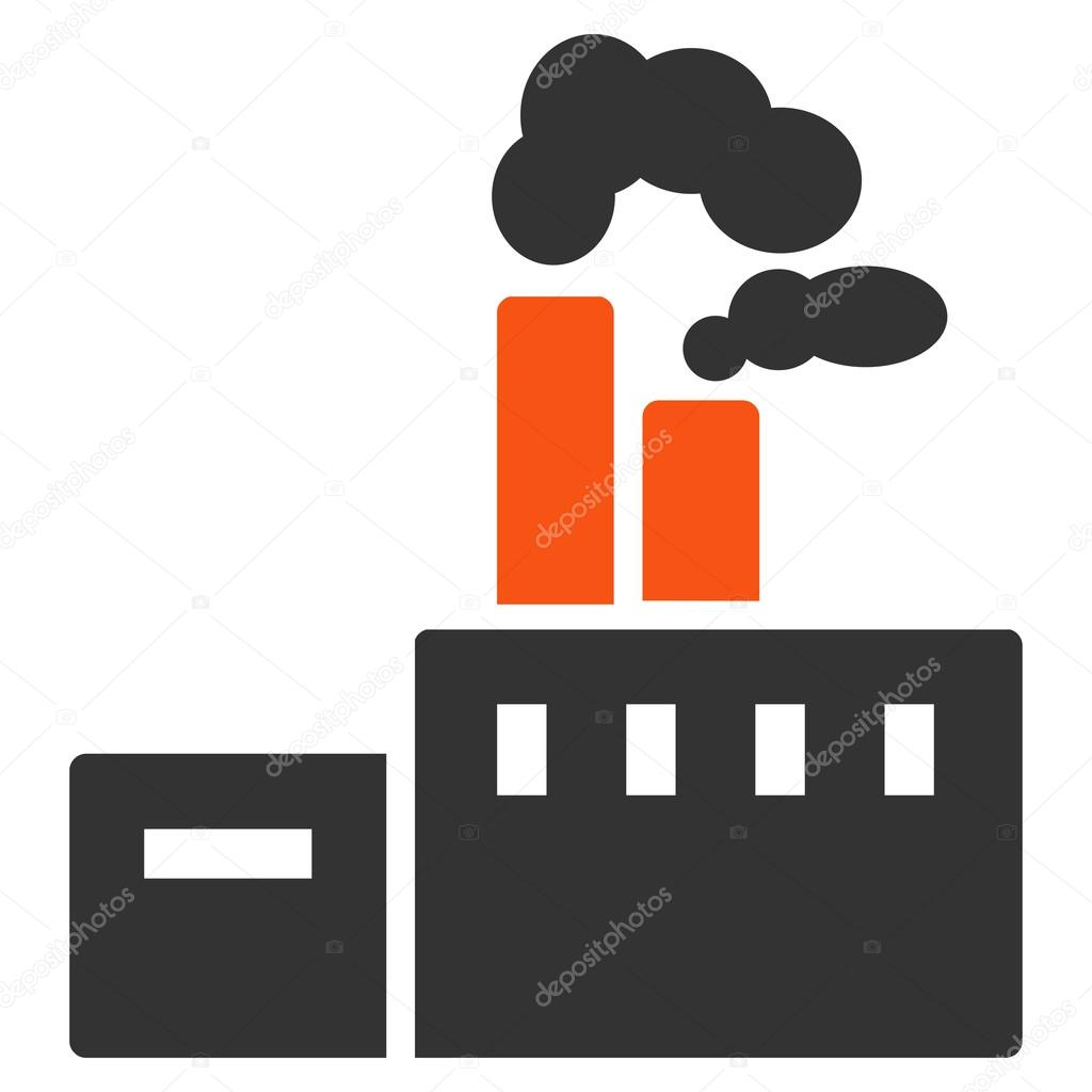 Factory Icon from Commerce Set
