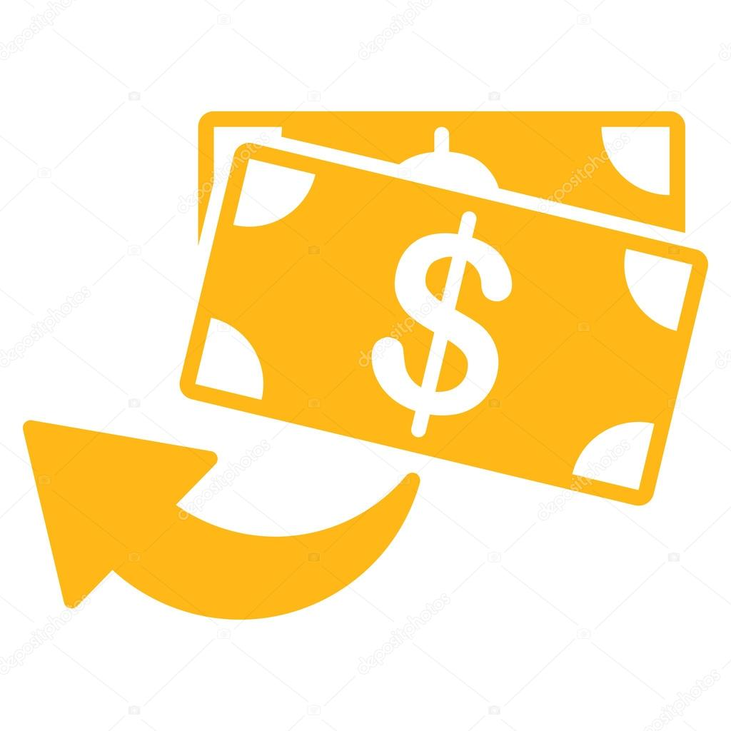 cashback icon from business bicolor set stock vector c ahasoft 80362808 depositphotos