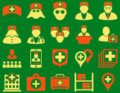 Photo Medical icon set