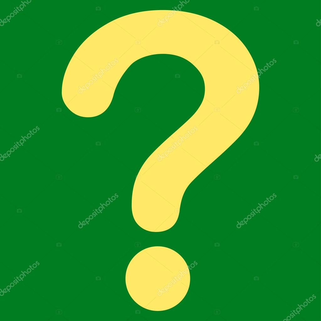 Question flat yellow color icon — Stock Vector © ahasoft #84565930