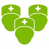 Zdravotnický personál ikona