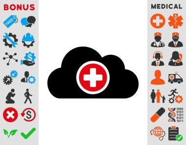 Health Care Cloud Icon
