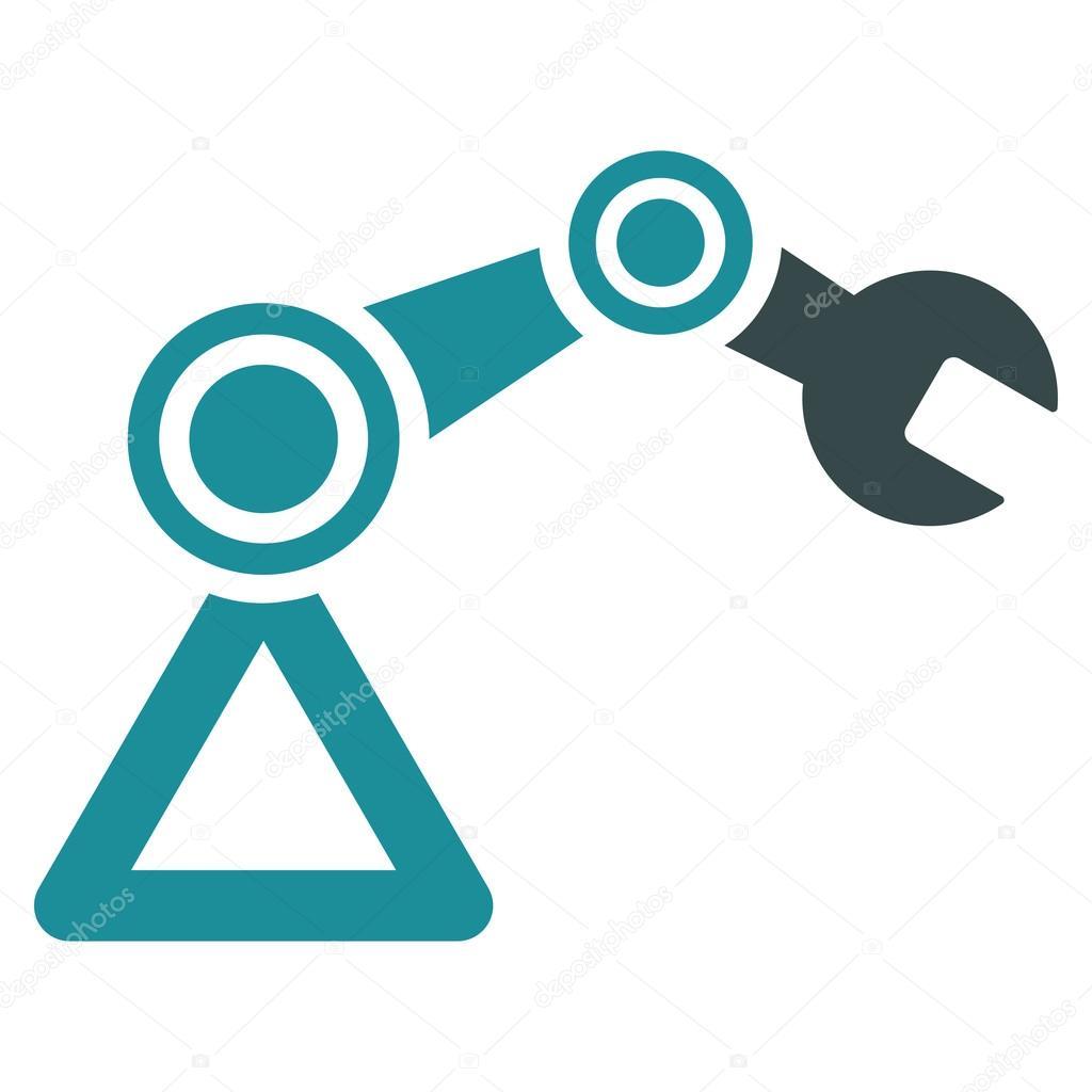Robotics Icon Stock Vector C Ahasoft 86250136