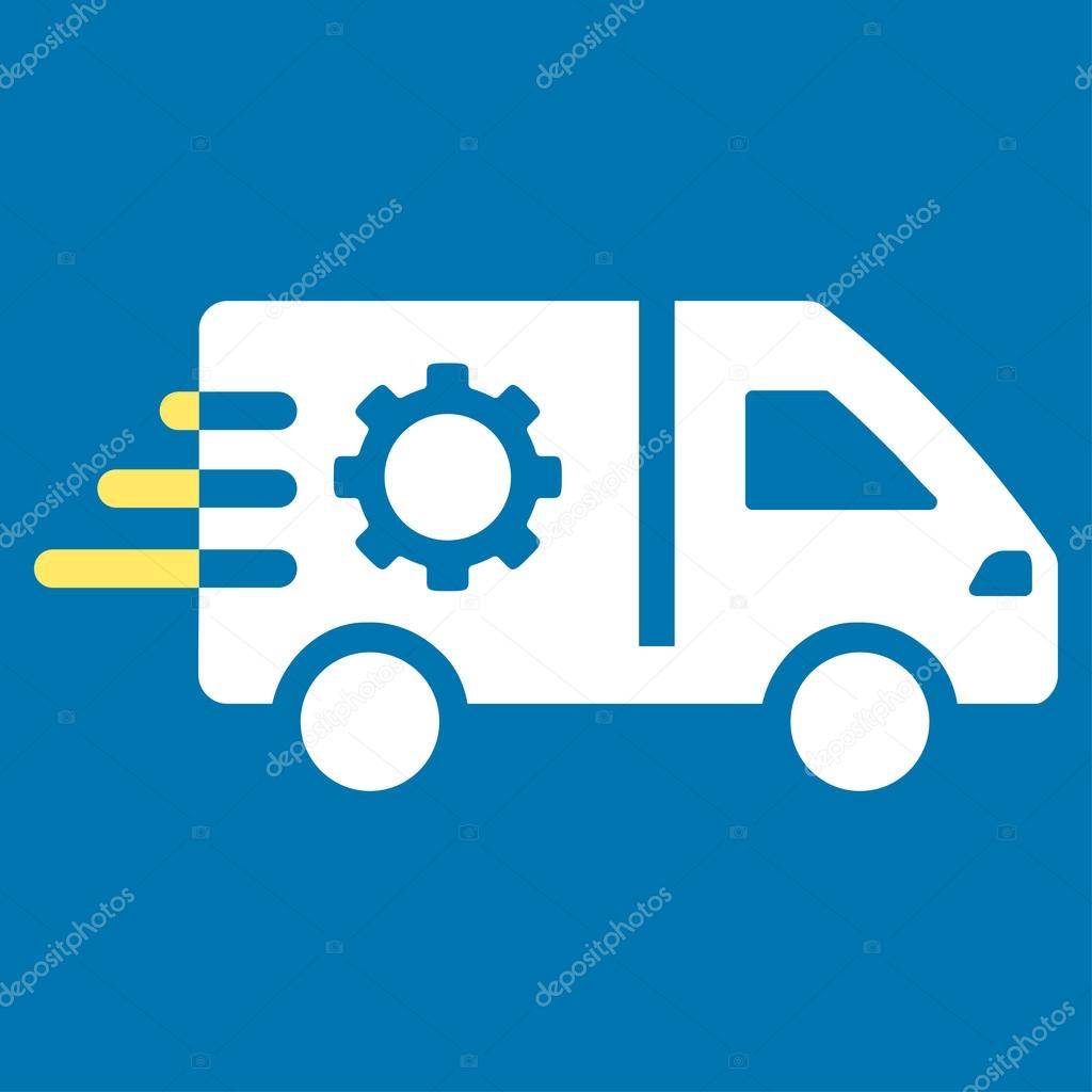 Service-Auto-Symbol — Stockvektor © ahasoft #86332212