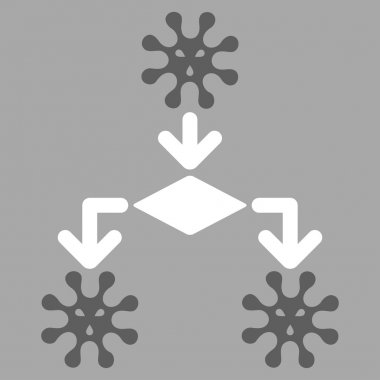 Virus Reproduction Icon