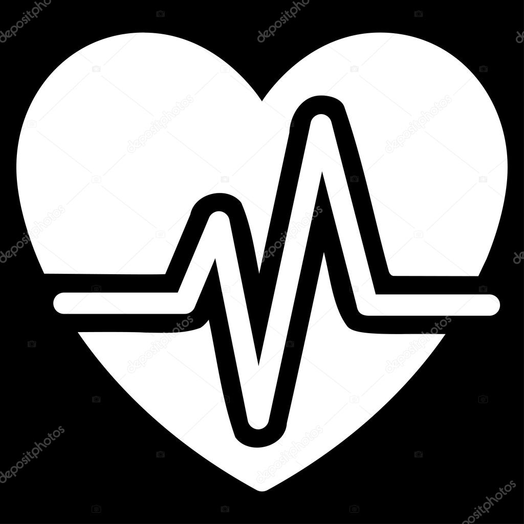 Herz-Diagramm-Symbol — Stockvektor © ahasoft #87151004