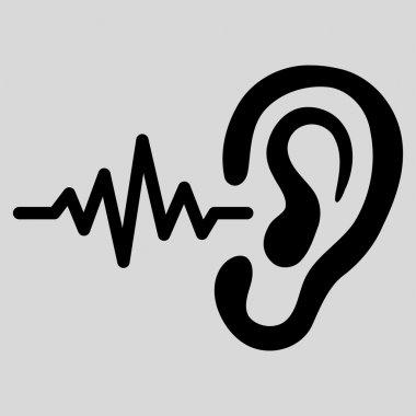 Listen Flat Icon