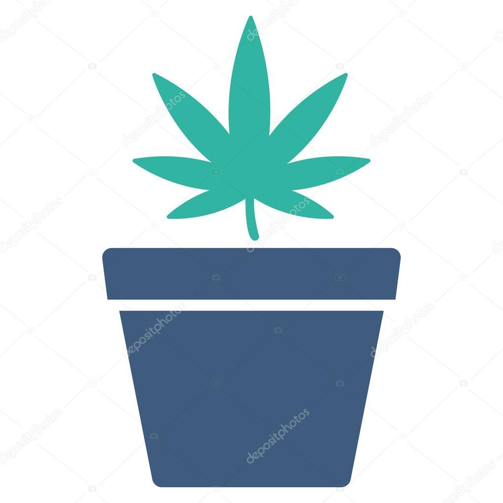 Cannabis Pot Icon