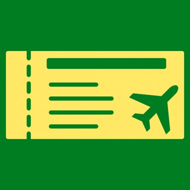 Airticket Flat Icon