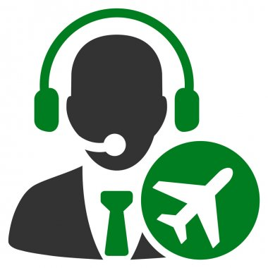 Dispatcher Flat Icon