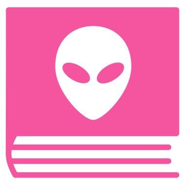Alien Catalog Flat Icon