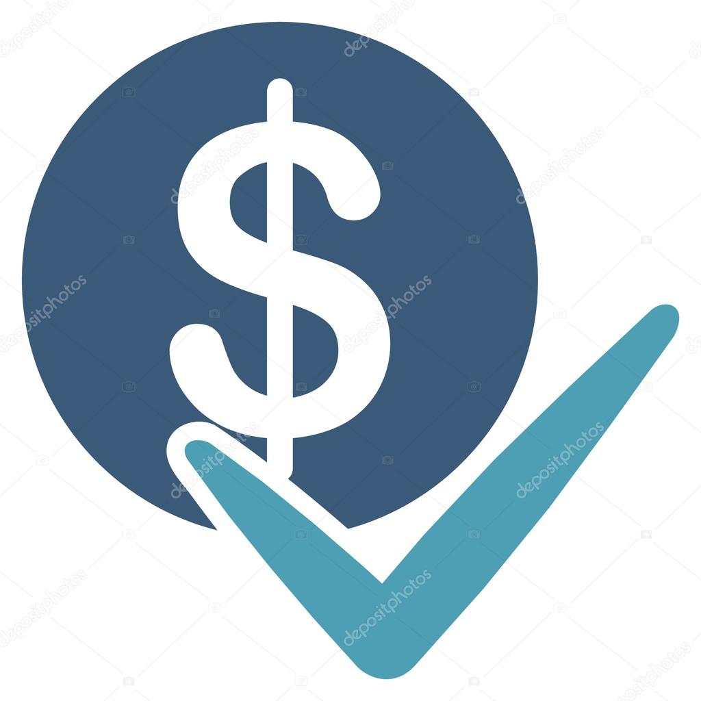 Icono del vector de seguros financieros. Este botón de ...