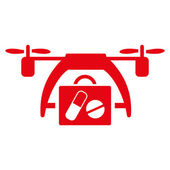 Zdravotní Drone ikona