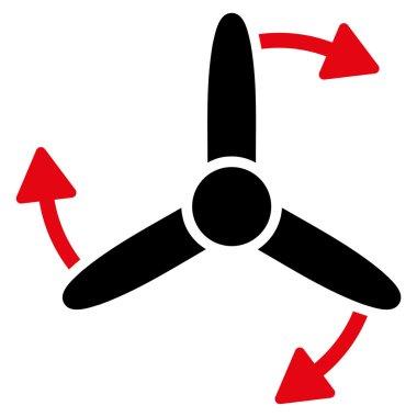 Three Bladed Screw Rotation Icon