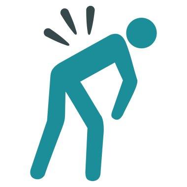 Backache Flat Icon
