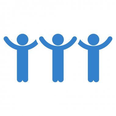 Family Hands Up Roundelay Icon