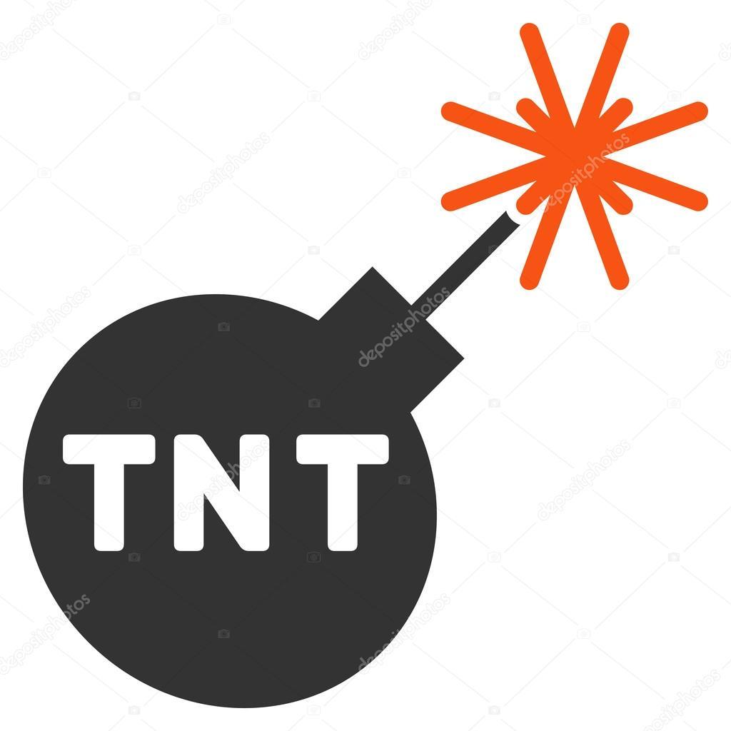 TNT-Bombe-Symbol — Stockvektor © ahasoft #88830348