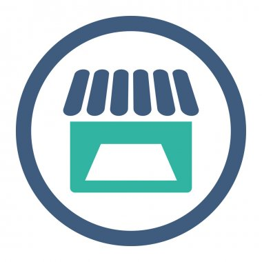 Store Rounded Raster Icon