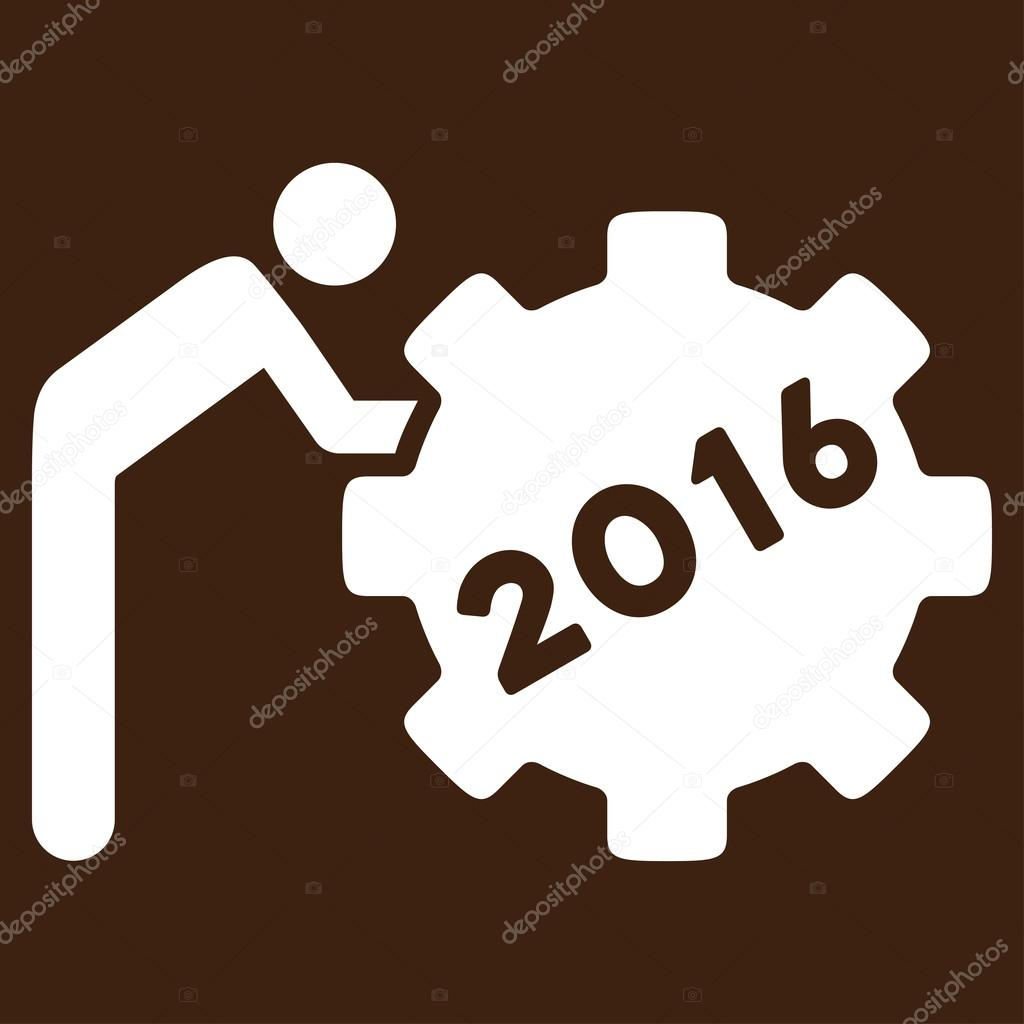 2016 working man icon stock vector ahasoft 89594340 2016 working man vector icon style is flat symbol white color rounded angles brown background vector by ahasoft biocorpaavc Images