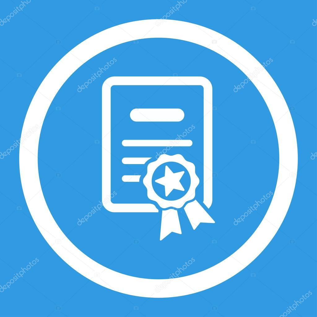certified diploma rounded vector icon stock vector © ahasoft  certified diploma rounded vector icon stock vector 89810478