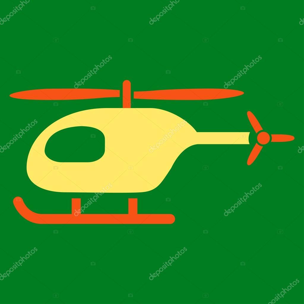Icona Piana Di Elicottero Vettoriali Stock Ahasoft 90086022