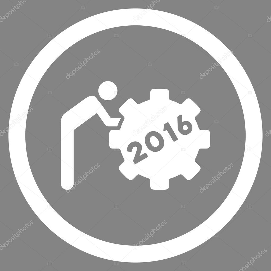 2016 working man icon stock vector ahasoft 90206214 2016 working man vector icon style is flat circled symbol white color rounded angles gray background vector by ahasoft biocorpaavc Images