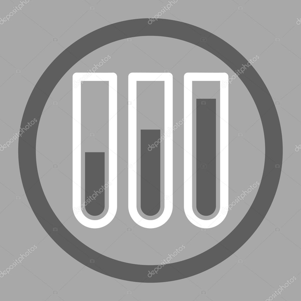 Blood test circled vector icon stock vector ahasoft 90345194 blood test vector icon style is bicolor flat rounded symbol dark gray and white colors rounded angles silver background vector by ahasoft buycottarizona Images