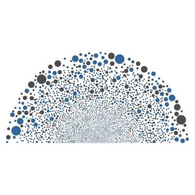 Random Circle Semisphere