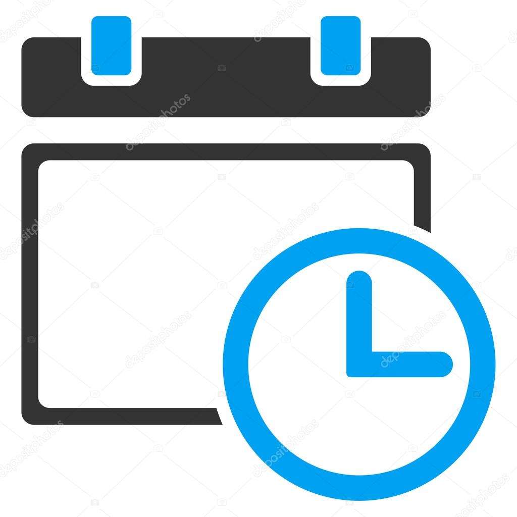 date and time icon stock vector ahasoft 91607092. Black Bedroom Furniture Sets. Home Design Ideas