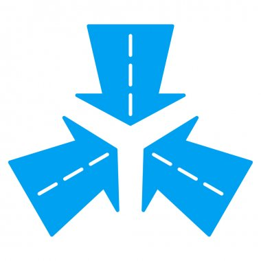 Merge Directions Icon